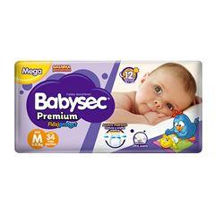 Fralda Softys Babysec Premium Mega Tamanho M