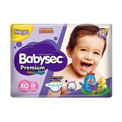 Fralda Softys Babysec Premium Mega Tamanho XG