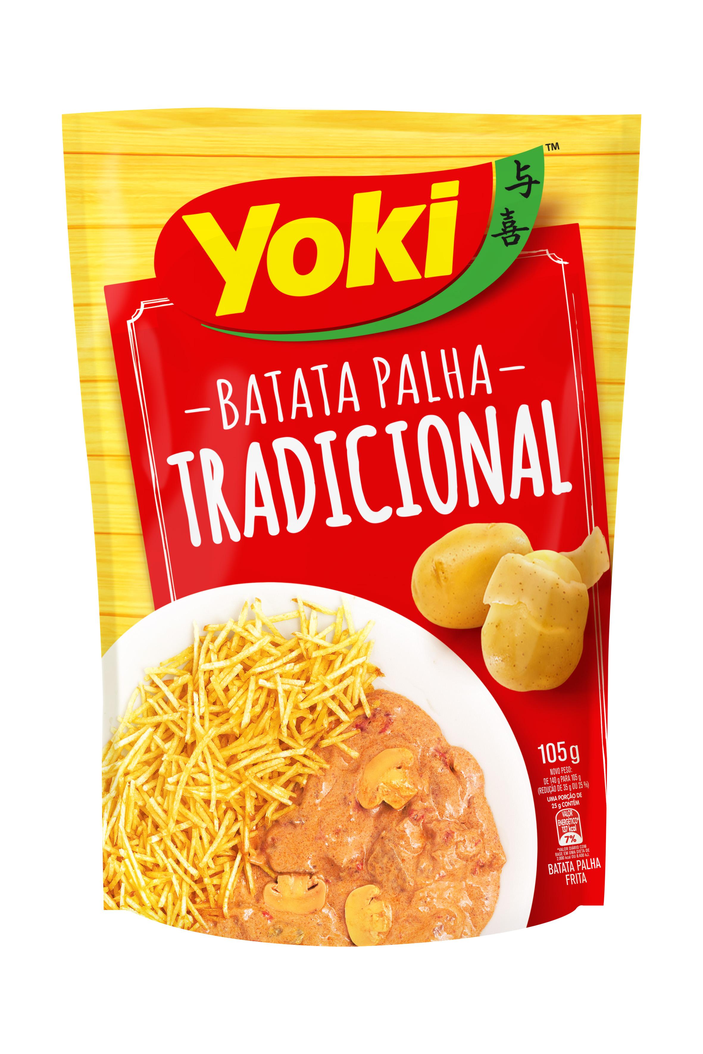 Batata Yoki Palha Tradicional