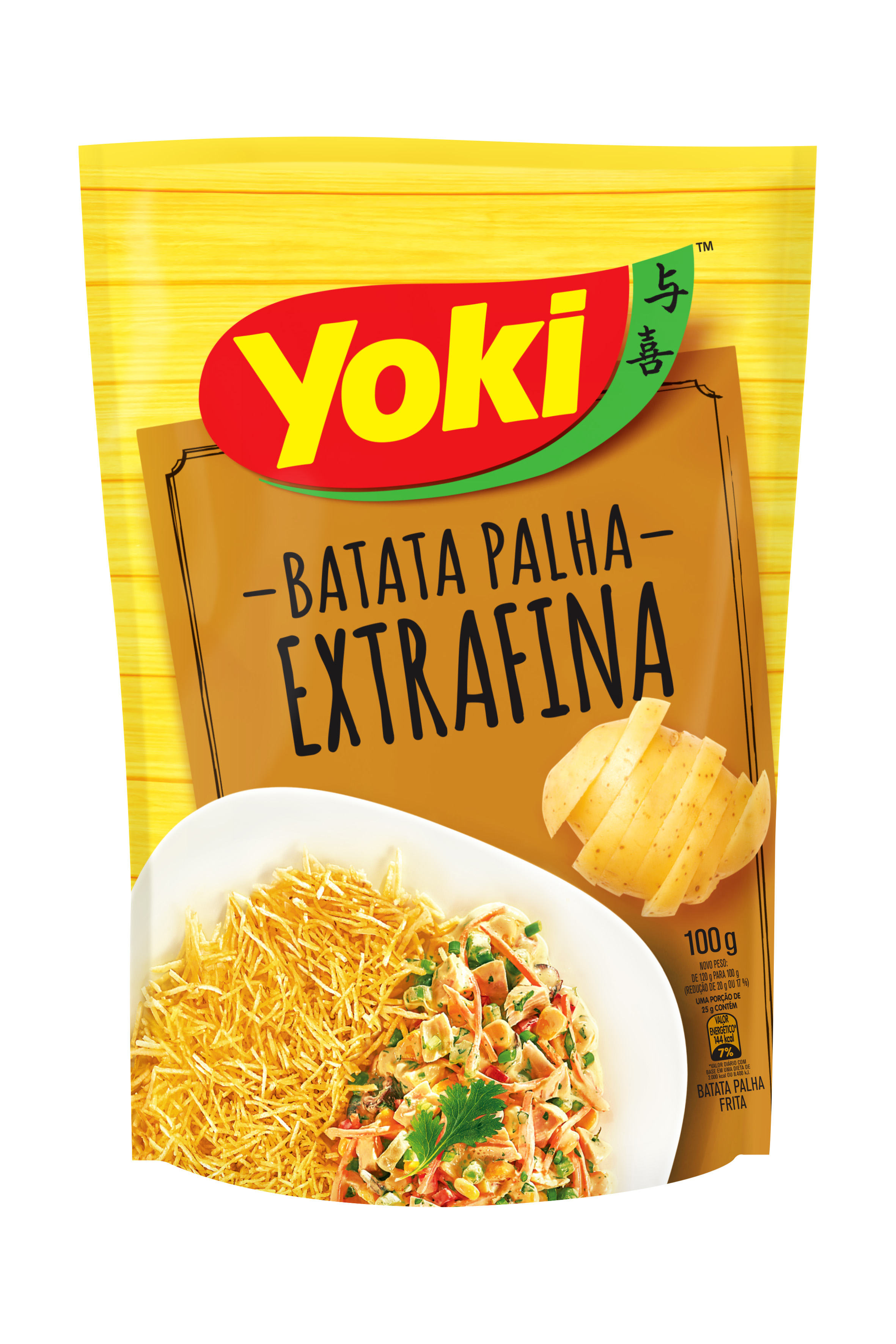 Batata Yoki Palha Extra Fina