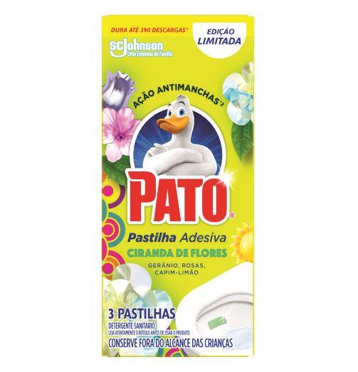 Detergente Sanitário Pato Pastilha Adesiva Ciranda de Flores