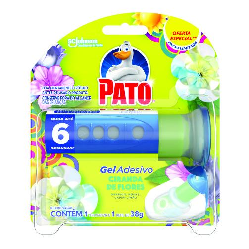 Desodorizador Sanitário Pato Gel Adesivo Aparelho 6 Discos Oferta