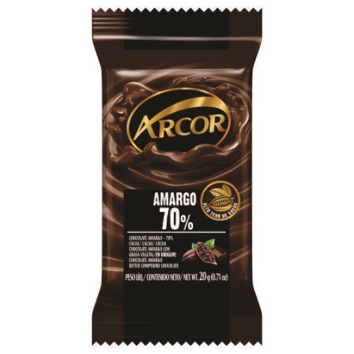 Chocolate Barra Arcor Amargo 20g