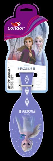 Escova Condor para Cabelo Infantil Frozen II Oval