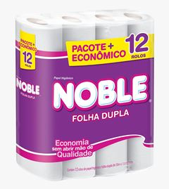 Papel Higiênico Softys Noble Folha Dupla 20M Oferta
