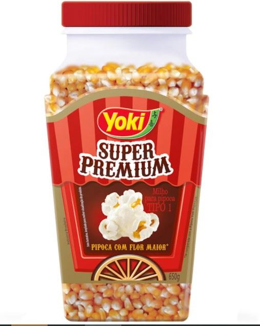 Milho para Pipoca Yoki Super Premium