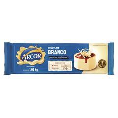 Chocolate para Cobertura Arcor Branco 1,05kg