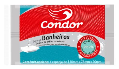 Esponja Condor para Banheiro