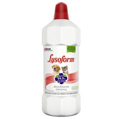 Desinfetante Lysoform Pets Original Líquido