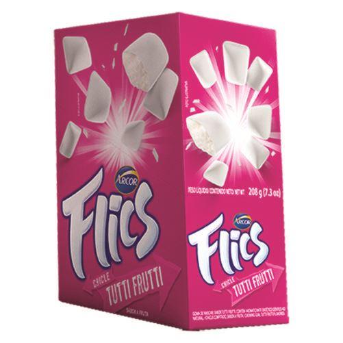 Chicle Arcor Flics Tutti Frutti